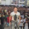 Varun Dhawan was snapped enjoying his time at Mithibai College Festival