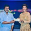 Chiranjeevi and Kajal Aggarwal makes a donation at HudHud Relief Fundraising Campaign