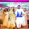 Rana Daggubati walks the ramp at HudHud Relief Fundraising Campaign