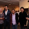 Celebs pose for the media at Mukesh Batra's Photo Exhibition