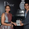 Huma Qureshi felicitated at the Watches of the World Showroom