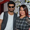 Arjun and Sonakshi Promote of Tevar on 93.5 Red FM