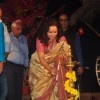 Himani Shivpuri lights the lamp at Aadirang Mahotsav
