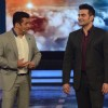 Salman Khan and Arbaaz Khan in Bigg Boss 8