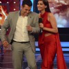 Salman Khan and Sonam Kapoor share a laugh in Bigg Boss 8