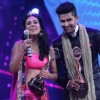 Nia Sharma and Ravi Dubey from Jamai Raja won the New Jodi Award at Zee Rishtey Awards 2014