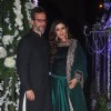 Raveena Tandon with Anil Thadani at the Sangeet Ceremony of Riddhi Malhotra and Tejas Talwalkar