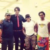 Saurabh Raaj Jain with the crew of his upcoming movie