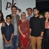 Rajkumar Hirani poses with guests at the Special Screening of P.K. for the Cast and Crew