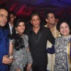 Shah Rukh Khan poses with Uday and Shirin at their Sangeet Ceremony