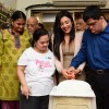 Mishti Chakraborty Cuts her Birthday cake