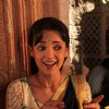 Sanaya on Rangrasiya Set