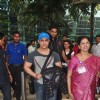 Aamir Khan smiles for the camera at Airport