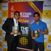 Ayan Mukerji poses with the Book at the Launch of 'The True Story of Sun Burn'
