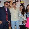 Aamir Khan poses with fans at P.K. Contest Winners Meet