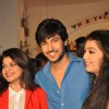Shivin Narang with Sneha Wagh and Digangana Suryavanshi at the Launch of Million Dollar Girl