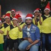 Ali Fazal Celebrates Christmas with Ngo Kids