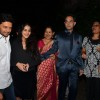 Riteish and Genelia pose with family members at Midnight Mass