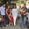 Samara Sahni snapped in a playful mood with the Kapoors at the Get-to-Gather for a Christmas Lunch