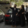 Saif Ali Khan and Kareena Kapoor pose for the media at the Get-to-Gather for a Christmas Lunch
