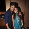 Nivedita Basu poses with Ravi Dubey at his Birthday Bash