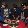 Ravi Dubey cutting his Birthday Cake