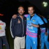 Rohit Roy poses with Apoorva Lakhia at CCL Practice Session