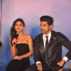 Sapna Pabbi interacts with the audience at the Music Launch of Khamoshiyan