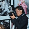 Shah Rukh Khan was snapped clicking photos at Dabboo Ratnani's Calendar Launch