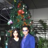 Nisha Jamwal and Rohit Roy pose for the media at the Launch of Neha Premjee's New Book '#College'