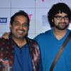 Shankar Mahadevan poses with Son Siddharth Mahadevan at the Music Launch of Marathi Movie Mitwa