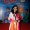 Prateeksha Lonkar poses for the media at the Music Launch of Marathi Movie Sata Lota Pan Sagla Khota