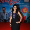 Urmila Kanitkar poses for the media at the Music Launch of Marathi Movie Sata Lota Pan Sagla Khota