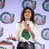 Shilpa Shetty interacts with the audience at 'Is laundry only a woman's job?' Event