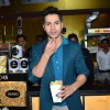 Varun Dhawan was snapped enjoying popcorn at the Song Launch of Badlapur