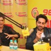 Pallavi Sharda interacts with the listeners at the Promotions of Hawaizaada on Radio Mirchi