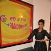 Pallavi Sharda poses for the media at the Promotions of Hawaizaada on Radio Mirchi