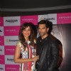 Bipasha Basu and Karan Singh Grover pose for thre media at the Promotions of Alone