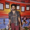 Ali Fazal poses for the media at the Promotions of Khamoshiyan on Red FM