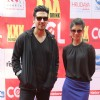 Zayed Khan and Tena Desae at the CCL Match Between Mumbai Heroes and Veer Maratha
