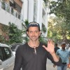 Hrithik Roshan poses for the media on his Birthday
