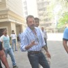 Sanjay Dutt waves to the fans while Leaving for Yerwada Jail