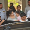 Sanjay Dutt's daughter gets teary eyed while bidding him audie as he Leaves for Yerwada Jail