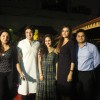 Celebs pose for the media during the Celebration of Lohri at Shikara Restaurant