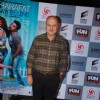 Anupam Kher poses for the media at the Premier of Sharafat Gayi Tel Lene