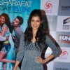 Tena Desae poses for the media at the Premier of Sharafat Gayi Tel Lene