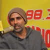 Akshay Kumar interacts with the listeners at the Promotions of BABY on Radio Mirchi