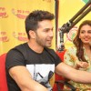 Varun Dhawan interacts with the listeners at the Promotions of Badlapur on Radio Mirchi