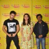 Team poses for the media at the Promotions of Badlapur on Radio Mirchi