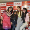 Huma Qureshi with the filmfare team at the Launch of Filmfare Calendar